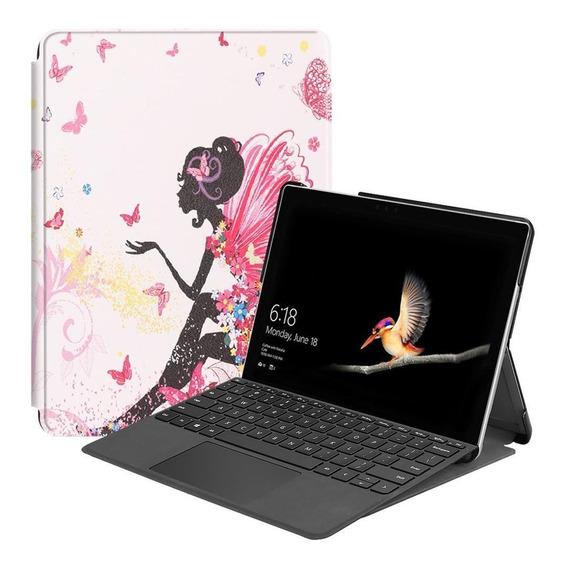 Capa Protetora De Couro Impresso Para Microsoft Surface Ir