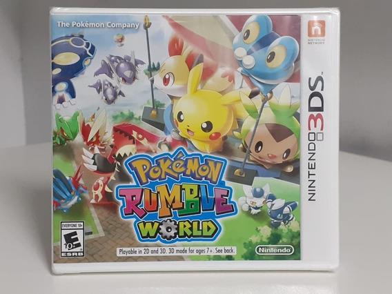 Pokemon Rumble World Nintendo 3ds Original Americano Lacrado