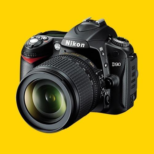 Câmera Digital Nikon D-90 Corpo + 02 Objetivas