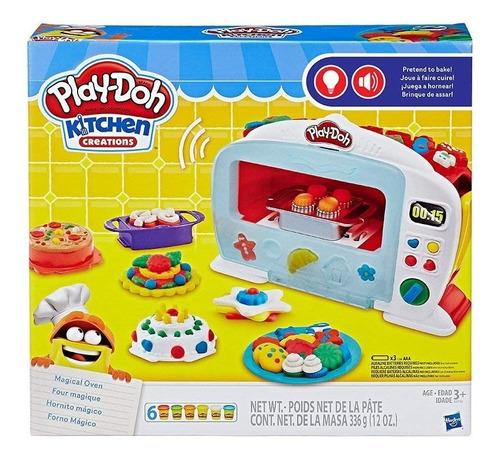 Play-doh Creaciones De Cocina Horno Mágico Original Figura