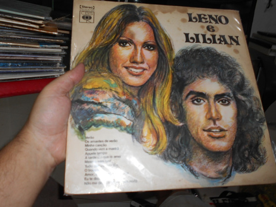 Lp -leno E Lilian -1972 - Bom Estado -raridade