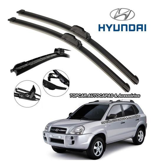 Par Palhetas Limpador Para-brisa Hyundai Tucson 2005 / 2016