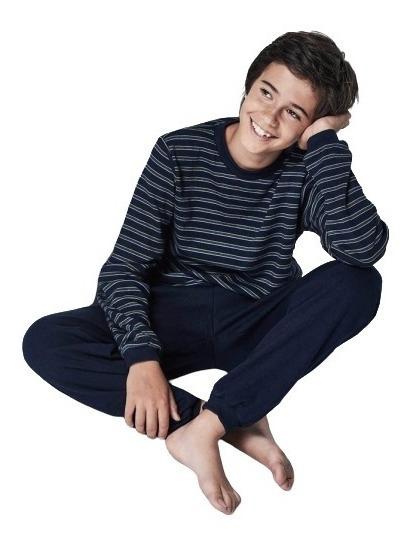 Pijama Niño 100 % Algodon - Remera - Pantalon Chupin