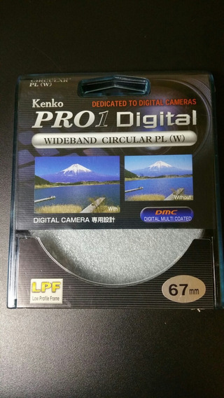 Filtro Kenko Pro1 Digital Cpl 67mm Zero - Box Aberto