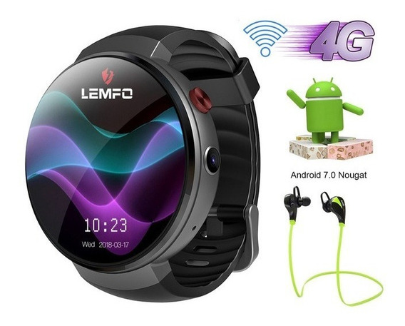 Lemfo Lem7 4glte Relógiosmart Android 7.1 16gb Prova D
