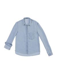 3dbb65be8 Camisa Jeans Feminina - Hering - Camisa Feminino no Mercado Livre Brasil