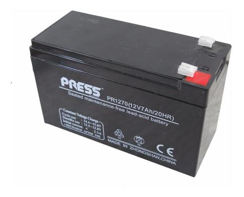 Bateria Sellada 12v 7ah Press Ups Alarmas Led Usos Varios