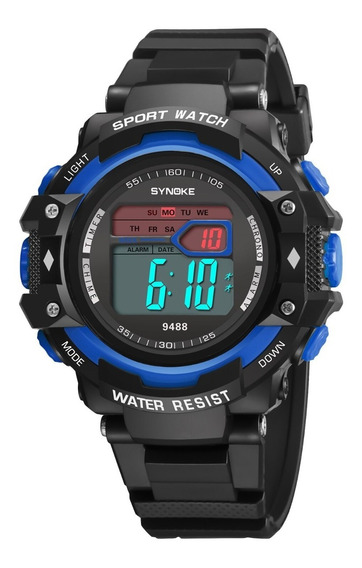 Relógio Masculino Synoke 9488 Digital Esportivo Original Nf