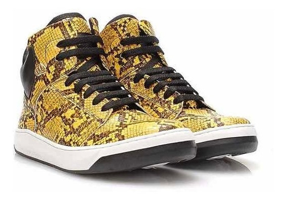 Tênis Sneaker Hardcore Footwear Couro Botinha Treino Fitn
