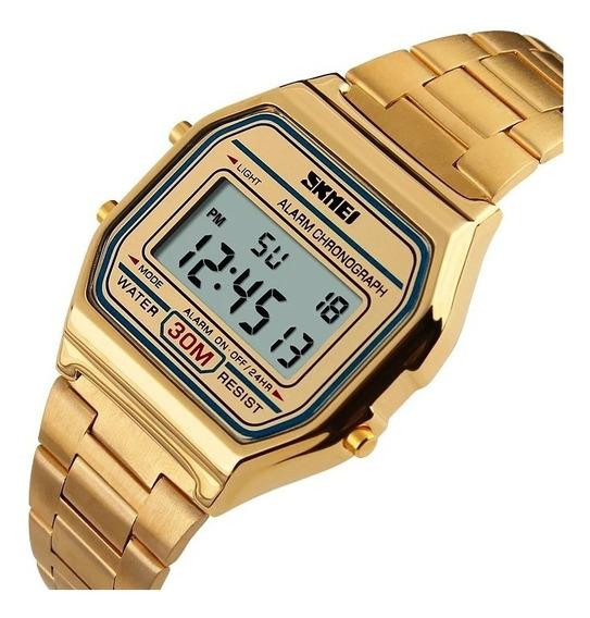 Relógio Feminino Skmei 1123 Digital A Prova D