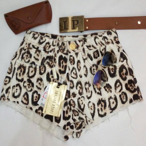 Shorts Lança Perfume Hot Pants Blogueira/ Instagram Oferta