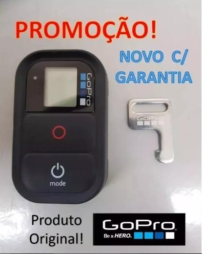 Controle Remoto Gopro Original Hero 2/3/4/5/6/7 -wi-fi- Novo
