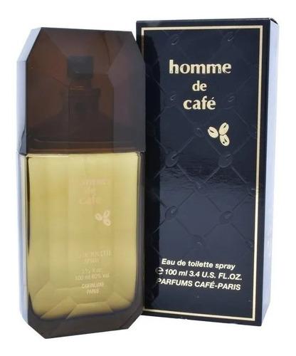 Imagen 1 de 2 de Perfume Homme De Cafe By Confiluxe 100 Ml
