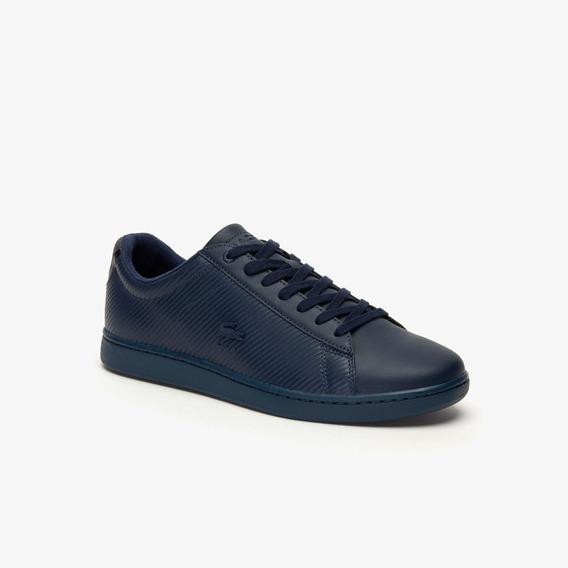 Zapatillas Lacoste Carnaby Evo 319 9 Negro Blanco Azul I20