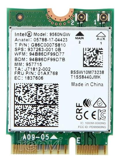 Dual Band 1.73gbps 802.11ac Wifi Wireless Intel 9560 Ngw