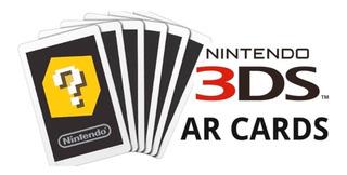 Lote X6 Tarjetas Arcards P/ Nintendo 3ds - Refurbished