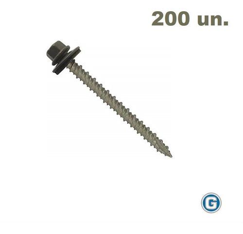 Tornillo Autoperforante Techo 14 X 2 P Aguja X 200 Gramabi F