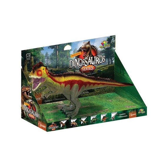Dinossauros Coleção Com 6 Uni. T-rex Estegossauro - Jurassic