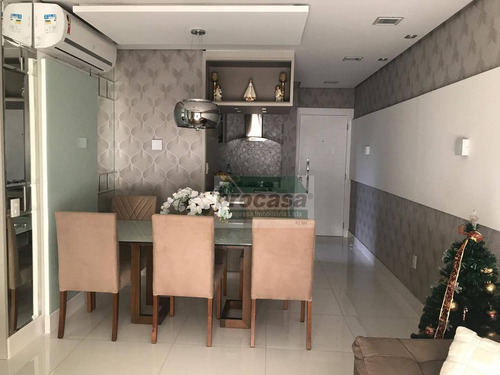Imagem 1 de 26 de Apartamento Mobiliado Com 3 Dormitórios À Venda, 88 M² Por R$ 580.000 - Ponta Negra - Manaus/am - Ap3268