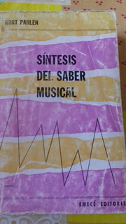 Síntesis Del Saber Musical De Kurt Pahlen Venta O Permuta