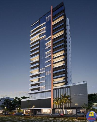Imagem 1 de 17 de Apartamento 3 Suítes, 2 Vagas De Garagem Na Meia Praia Em Itapema/sc - Imobiliária África - Ap00413 - 69705499