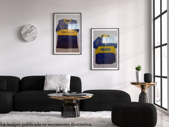 Cuadro Recuadro Boca Camiseta 2005 Original Decoracion Pared
