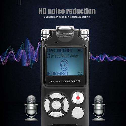 Imagen 1 de 9 de Sk333 8gb Hd Grabadora De Voz De Audio Grabadora De Sonido P