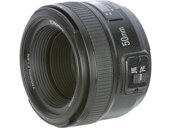 Lente Yongnuo 50mm F1.8 Para Nikon