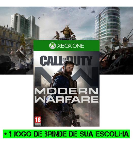 Call Of Duty: Modern Warfare Xbox One Mídia + Brinde