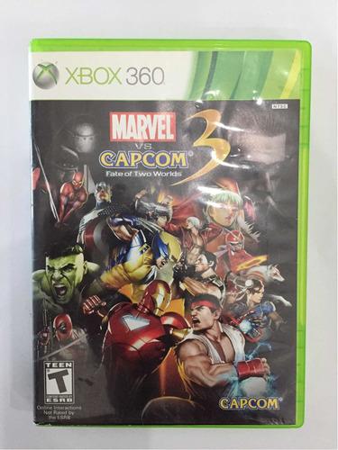Marvel Vs Capcom Xbox360
