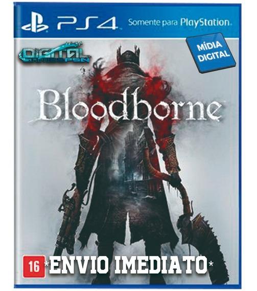 Bloodborne Ps4 Psn Game Digital Envio Já. Original