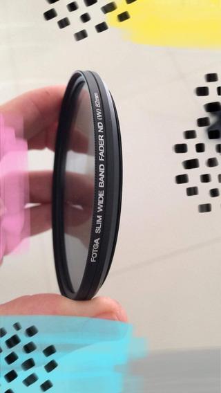 Filtro Nd2 Até Nd400 Nd Variável Fotga 82mmmm