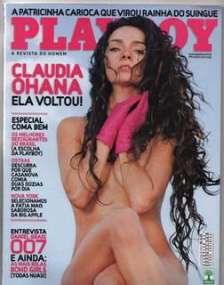 Playboy Claudia Ohana - Nov/2008
