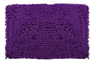Tapete De Baño Shaggy Coral 40x60 Cm Envío Gratis!