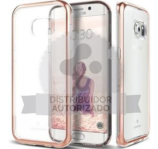 Funda Samsung S7 Edge Caseology ® Skyfall Rose Gold Anti Imp
