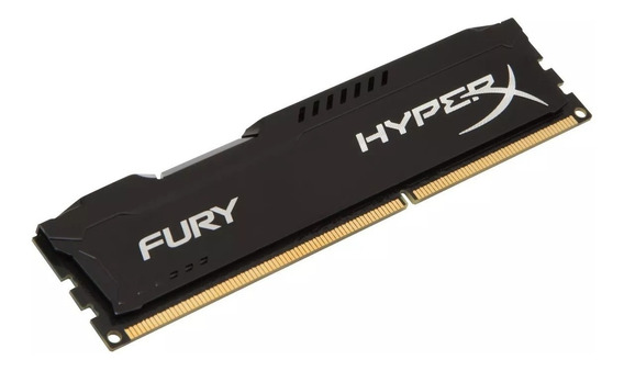 Memoria Ddr3 4gb Hyperx Kingston 1600mhz Preta Original