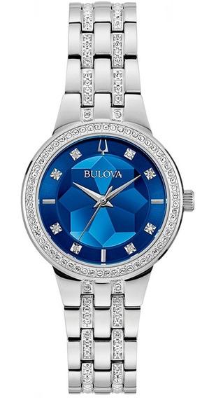 Relógio Bulova Feminino Crystal 96l276