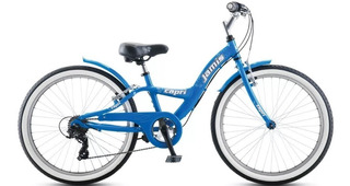 Bicicleta Niños Aluminio Playera Rodado 24 Jamis Capri 24