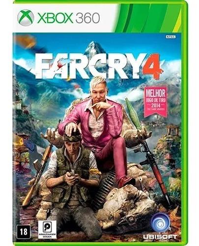 Jogo Far Cry 4 Xbox 360 Original Lacrado Novo Mídia Física