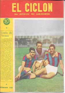 Revista El Ciclon N° 133 Año 1946 San Lorenzo