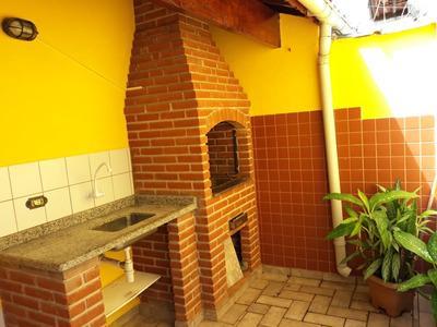 Casa 2 Dorms 150 Mts P/mar Churrasqueira J-186