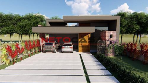 Imagem 1 de 3 de Casa Em Condomínio Para Venda Em Votorantim, Alphavile Nova Esplanada 1, 3 Dormitórios, 3 Suítes, 4 Banheiros, 4 Vagas - Cac663_1-1952470