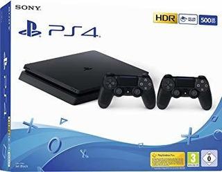 Playstation 4 Slim 500gb 2 Joystick 2 Juegos Ps4