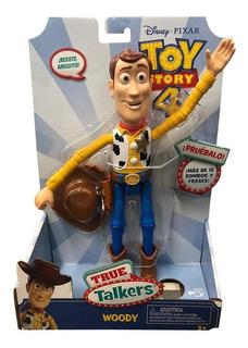 Toy Story 4 - Comisario Woody Con Sonido - Mattel Gdp96