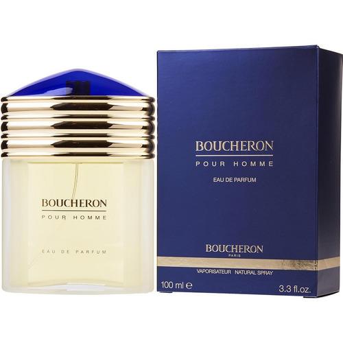 Perfume Locion Boucheron Pour Homme Eau De Parfum 100% Origi