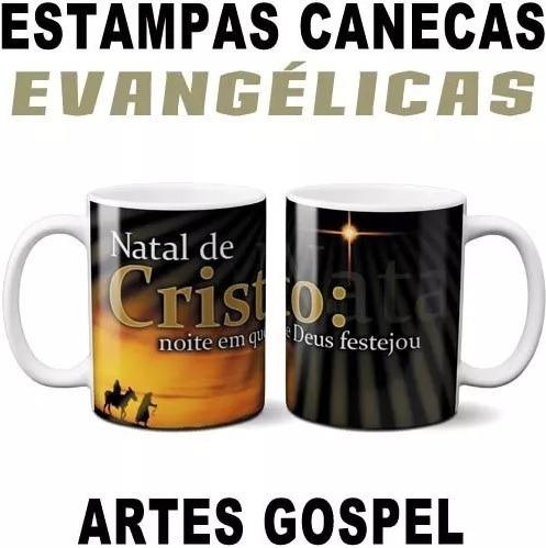 Sublimação Canecas Estampas Evangélicas Gospel