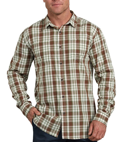 Camisa Dickies Wl525 Rwog Manga Larga
