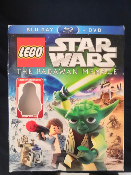 Lego Star Wars Amenaza A Los Padawan Dvd + Bluray