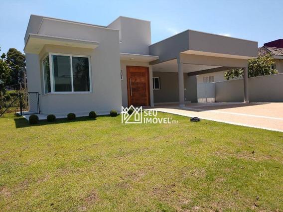 Casa Com 3 Dormitórios À Venda, 228 M² Por R$ 990.000,00 - Condomínio Palmeiras Imperiais - Salto/sp - Ca1649
