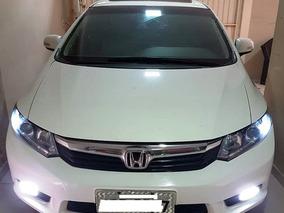Honda Civic 1.8 Exs Flex Aut. 4p Teto Solar Piloto Automátic